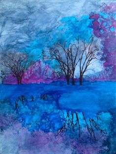 Louisiana Edgewood Art Paintings by Louisiana artist Karen Mathison Schmidt: Attempting the impossible