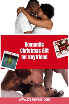 Bring the Romance on Christmas morning with Kisses 4 Us!  Your boyfriend will love this unique gift!