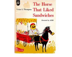 vintage kids book The Horse That Liked by OnceUponABookshop, $4.50