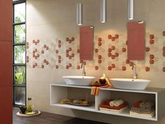 #Oficina7 | ceramic tiles for bathroom coverings | #Marazzi