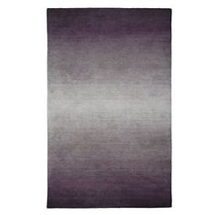 Center a room around an Aubergine Ombre rug. $399.95