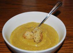 Spiced Cauliflower Parsnip Soup — KoogleBites