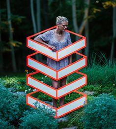 New Geometric Tape Art from Aakash Nihalani http://www.thisiscolossal.com/2014/01/new-geometric-tape-art-from-aakash-nihalani/