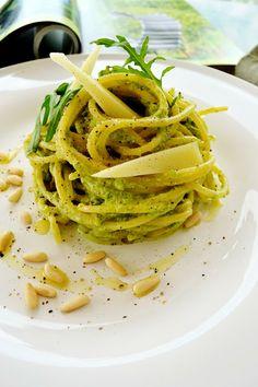 """Dafne's Corner """" il Gusto"""": Vermicelli al finto pesto di asparagi"""