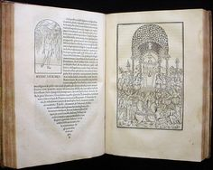 """The Hypnerotomachia Poliphili printed by Aldous Manutius. From this fantasy novel we derive our rules of graphic design and the """"rule of four"""""""