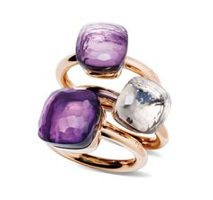 If I make any purchases on this trip to Italy, it will be Pomellato rings.  To.Die.For.