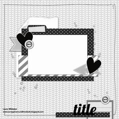 January 22 2016 sketch challenge for ScrapMuch? by Laura Whitaker - Scrapbook.com