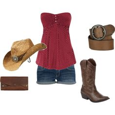 perfect outfit for country concerts!