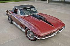 Über-rare 1967 L88 C2 Convertible. Available next month at Mecum Auction, Dallas. Expected bid ~ $1.2M. . .