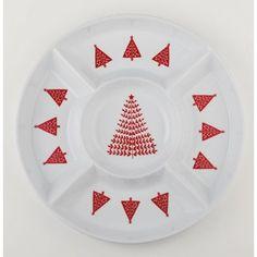 Homespun 5 Section Snack Platter