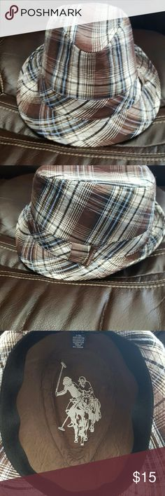Polo assn. dress hat,plaid. Polo assn. dress hat, plaid size lg. Polo assn. Accessories Hats