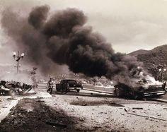 Intento de magnicidio contra el Presidente Rómulo Betancourt en 1960.