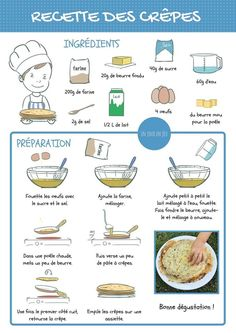 Instant Pot Recipes Kids Will Love Kids Meals, Easy Meals, French Crepes, Crepe Recipes, Kid Recipes, Time To Eat, French Food, Learn French, Kid Friendly Meals