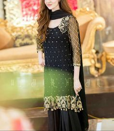 @triptiproducts Pakistani Dress Design, Pakistani Wedding Dresses, Pakistani Outfits, Indian Dresses, Designer Party Wear Dresses, Designer Anarkali Dresses, Event Dresses, Eid Dresses, Casual Dresses