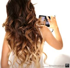 Cute everyday hairstyles for long hair loose beach waves hair tutorial How to: Amazingly Voluminous Curls in 10 Minutes | Hairstyles