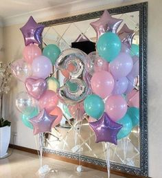 Love these balloons for a unicorn themed birthday party unicornbirthdayparty unicornbirthdaypartyideas kidsbirthdayparty kidsbirthdaypartyideas girlbirthdayparty girlbirthdaypartyideas 518969557059396654 Unicorn Themed Birthday Party, Unicorn Birthday Parties, First Birthday Parties, Birthday Party Decorations, First Birthdays, Unicorn Party Decor, 4th Birthday, 1st Birthday Balloons, Frozen Birthday