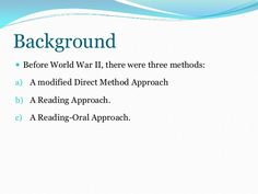 """From """"Approaches and Methods in Language Teaching"""" By J. Richards and T. Direct Method, Foreign Language Teaching, Behavioral Psychology, English Grammar Worksheets, Learning Theory, Teaching Activities, In Writing, Textbook, Vocabulary"""