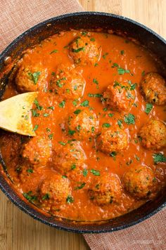 Slimming Eats - Slimming World Recipes Syn Free Vegetarian Meatballs in Creamy Tomato Sauce | Slimming World recipes