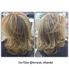 Iluminando o Castanho!!!  #efhairclub  #fabricadeloiras #opoderdasmechas #aquinosalao #amagiadascores #lourodesalao #loiroryco #autoridadeemmechas #mechas #luzesnocabelo #luzes #platinado #tijuca #BestBlondes #platinadoperfeito #madeixas #blondhair #blond #blogger #bloggueira #TOP #cabelodediva #loirodossonhos #cabeloloiro #colorista #ficoulindo #loiroryca  @fernando_efhairclub