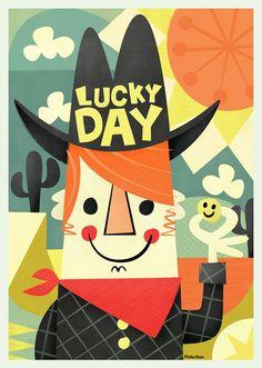 Lucky day. Pintachan.