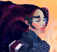 Commander Shepard by Sophia Hopkins #masseffect