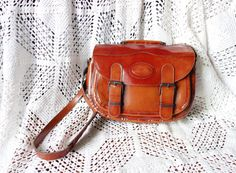 Vintage Glazed Shiny Rusty Red Brown  by WayOutWestVintage on Etsy