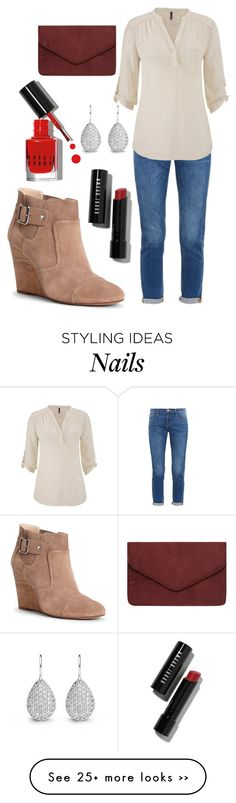 """""""Fall Fab"""" by mm-allforfashion on Polyvore featuring Bobbi Brown Cosmetics, Frame Denim, maurices, Sole Society and Dorothy Perkins"""