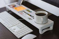 Organizador madera organizador de escritorio por iWoodDesignUA