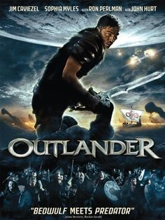 Rent Outlander starring Jim Caviezel and Sophia Myles on DVD and Blu-ray. Get unlimited DVD Movies & TV Shows delivered to your door with no late fees, ever. Cinema Movies, Sci Fi Movies, Hd Movies, Movies To Watch, Movies Online, Movies And Tv Shows, Movie Tv, Ron Perlman, Jim Caviezel