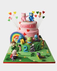 BABY TV CAKE BBC1589 - Panari Cakes