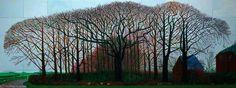 Bigger Trees Near Warter Or Peinture Sur Le Motif Pour Le Nouvel Age Post-Photographique by David Hockney