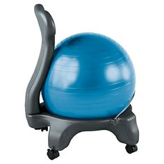 Gaiam Balanceball Chair, Blue