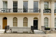 Architecture Plan, Chester, Terrace, Facade, Houses, London, Mansions, House Styles, Balcony