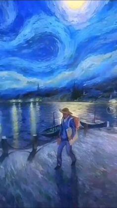 Photo Collage Design, Photo Art, Remo, Vincent Van Gogh, Cartoon Wallpaper, Serenity, Nerdy, Medicine, Funny Pictures