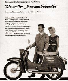 Simson Schwalbe, East Germany