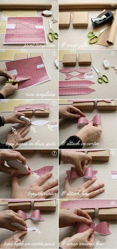 Make a paper bow