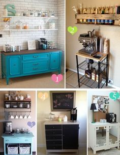 home coffee bar design ideas. 20 Handy Coffee Bar Ideas For Your Home 21 Bars To Put Pep In Design  And Kitchens