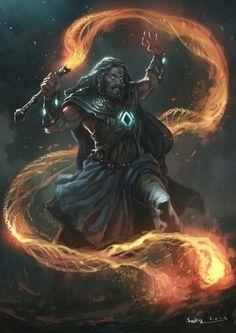 Firelesh:su látigo está echo de un material estilo lava