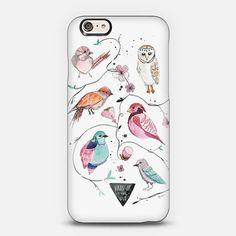 watercolor bird case