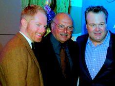 Jesse Tyler Ferguson, Dennis Franz & Eric Stonestreet at Variety and Women In Film Emmy Party