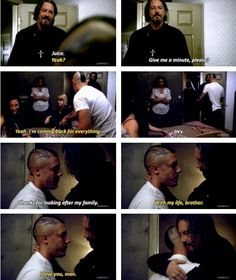 Sons of Anarchy│3x11 Extended Scene│Juice Ortiz & Chibs Telford