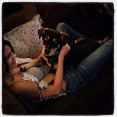 Selena Gomez adopted Baylor from an animal shelter when she was | Happy National Pet Day — See the Stars Who Love Their Pups | POPSUGAR Celebrity