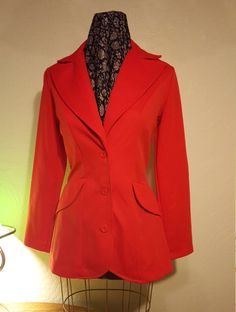 Women's Polyester Disco Suit by UmbrellaVintage on Etsy