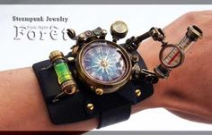 Steampunk Gadgets, Steampunk Watch, Steampunk Diy, Steampunk Clothing, Steampunk Fashion, Cool Watches, Watches For Men, Sinn Watch, Futuristic Motorcycle