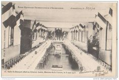 Ecole professionnelle salle du banquet offert au général André, ministre de la guerre le 31 mai 1903