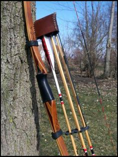 I shoot a Dwyer original. Before that, I shot a Blacktail longbow. The Dwyer is the best performing longbow I've shot. I'm sure the Tomahawks are very good, too.