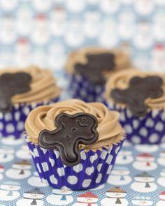 Objetivo: Cupcake Perfecto.: Cupcakes de chocolate con crema de queso chocolateada (e ingrediente secreto...)
