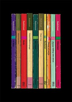 SPECIAL OFFER: Radiohead Any 4 Albums As Collections of Books