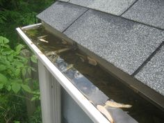 Before You Buy Gutter Guards, Review These Pros & Cons Of Installing Gutter Covers by @FunHouseHome The Fun Times Guide to Household Tips