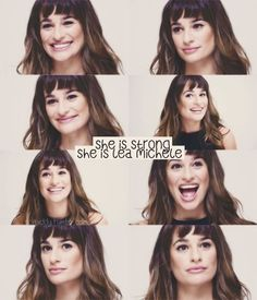 She is strong ⭐️ She is Lea Michele ❤️